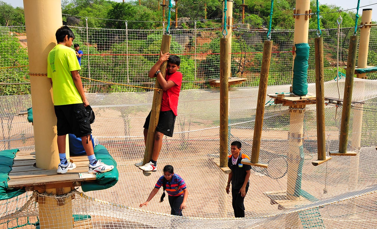 Adventure park in hyderabad