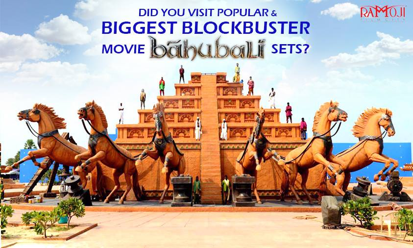bahubali movie set in ramoji film city
