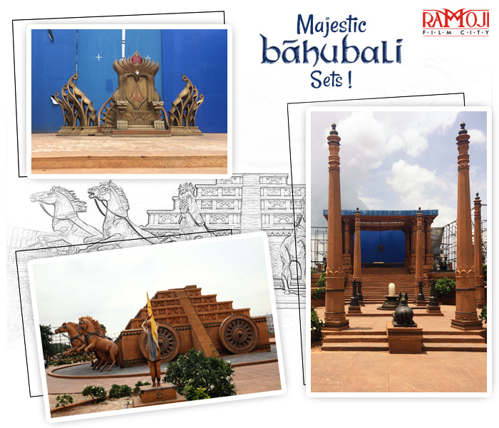 bahubali set tour in ramoji film city