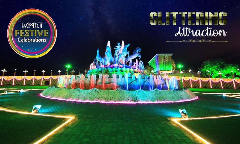 thematic dussehra festive celebrations at ramoji film city