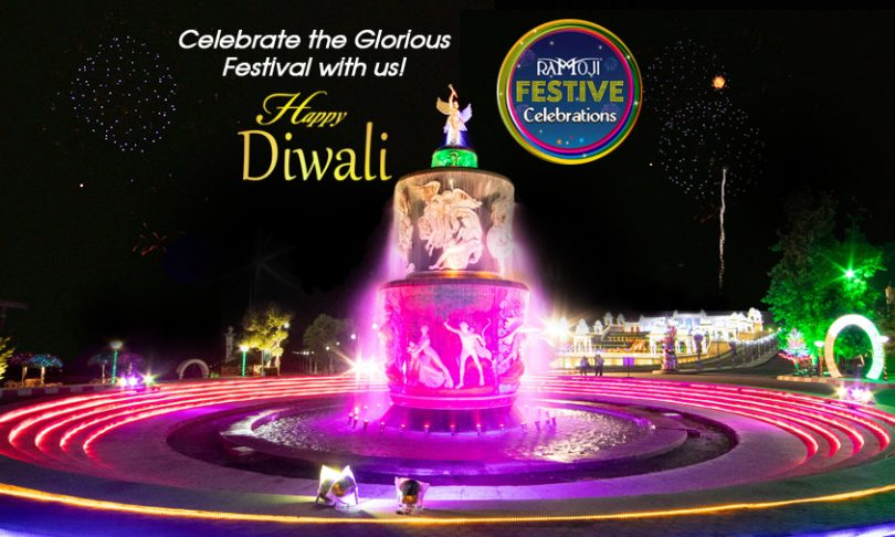 ramoji film city diwali celebrations