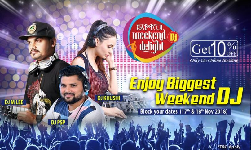 dj event at ramoji film city