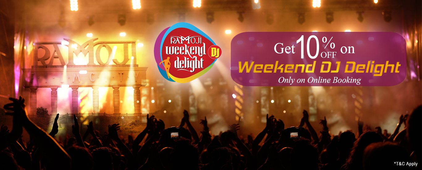 dj night hyderabad at ramoji film city