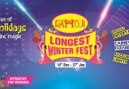 winter carnival tour at ramoji film city