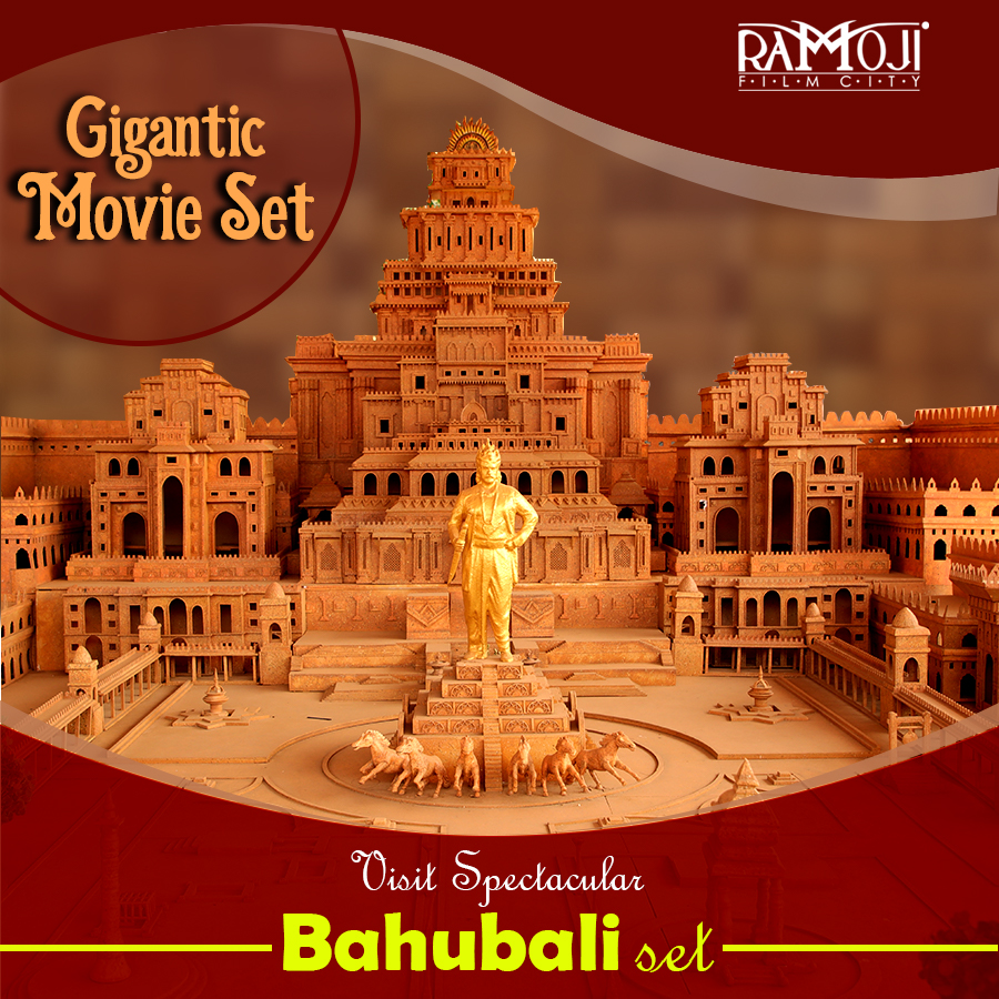 bahubali shooting at ramoji