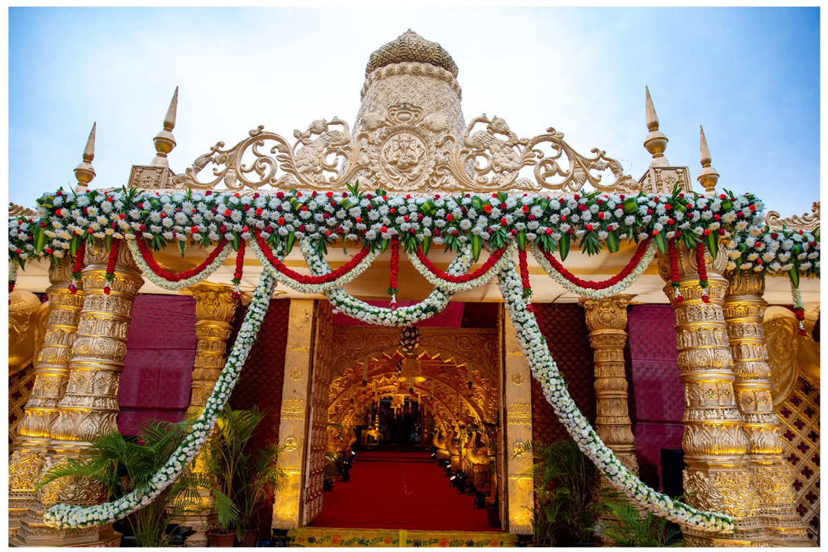 Wedding theme of Ramoji Film City